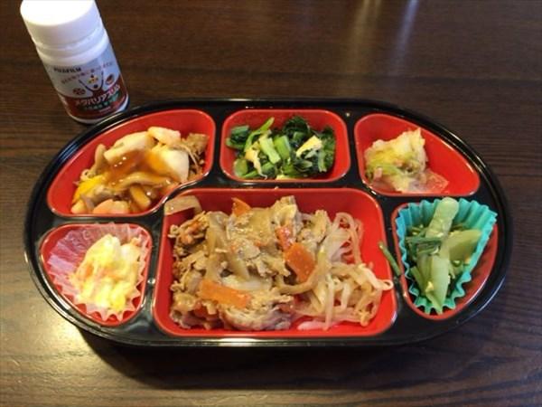 生協のお弁当とメタバリアスリム