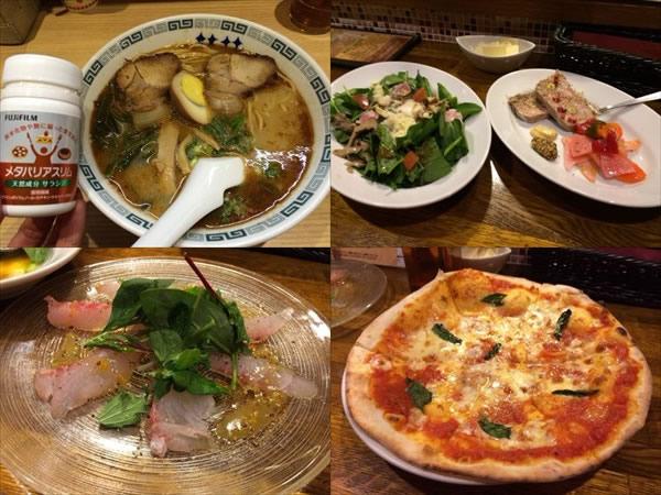 熊本ラーメンとイタリアン系料理
