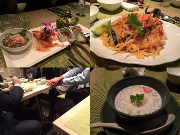 タイ料理のコース内容