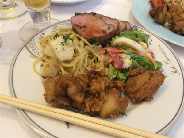 結婚式二次会で食べた料理