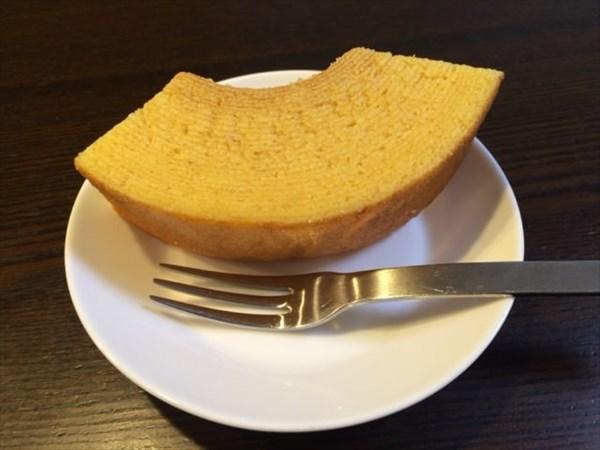 食後のバウムクーヘン