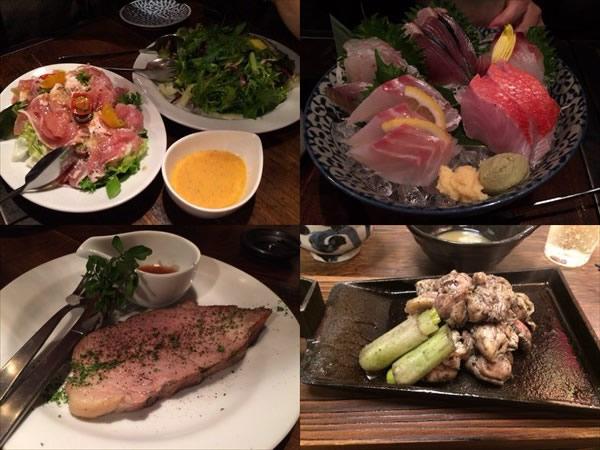 ライザップ横浜オフ会で食べた料理
