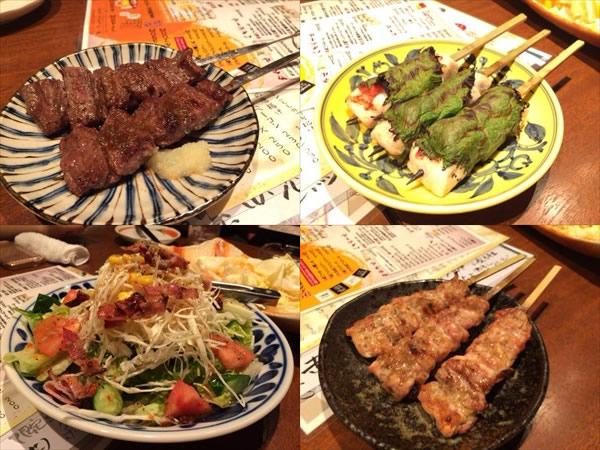 ライザップ名古屋オフ会で食べた料理その1
