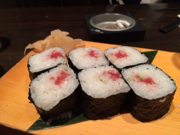 2次会で注文した寿司