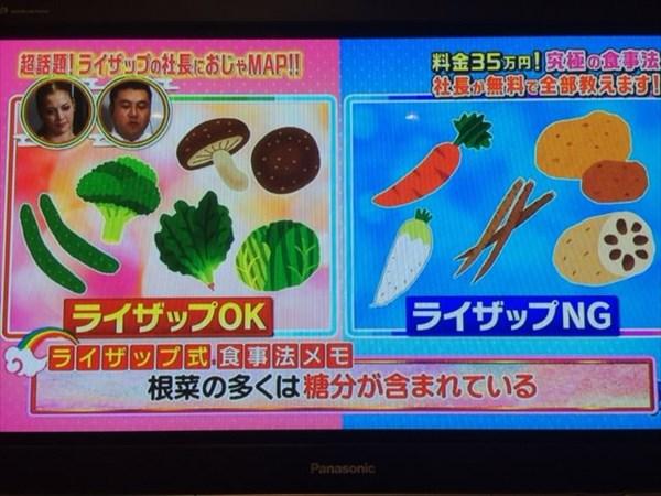 根菜の多くは糖分が含まれている
