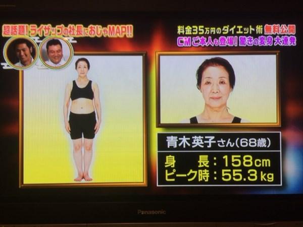 青木英子さんのビフォーデータ
