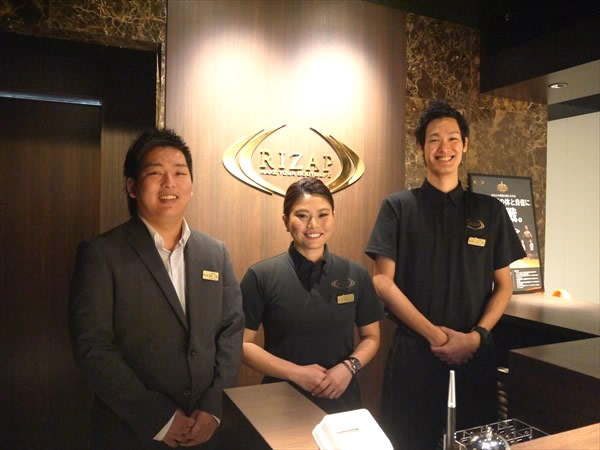 ライザップ堺東店のスタッフ
