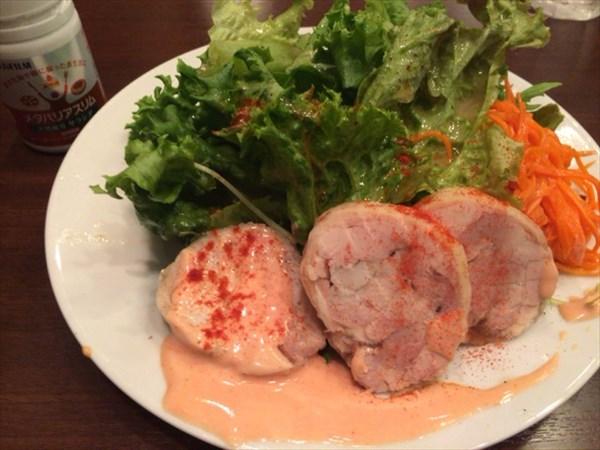 石川亭でのランチ(前菜)