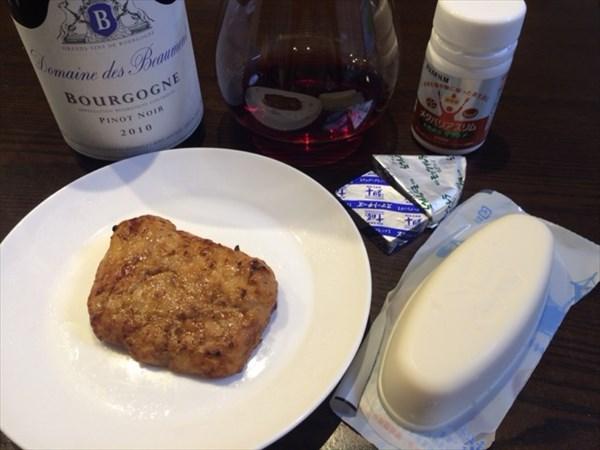 チキンと豆腐と赤ワインとメタバリアスリム