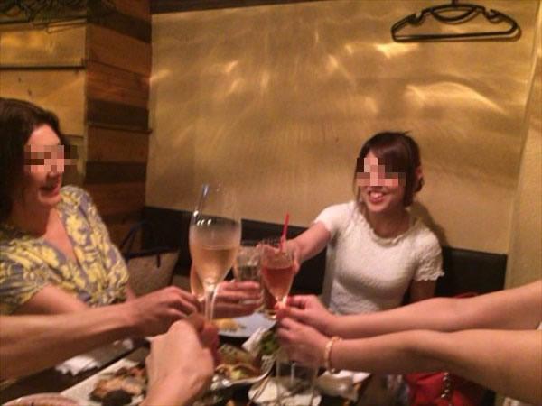 竹俣さんと乾杯!