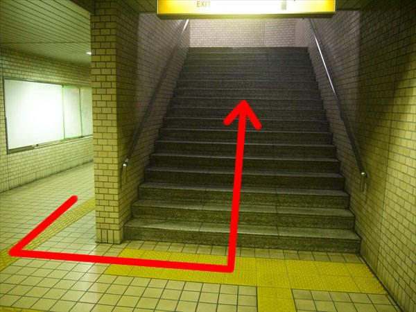 さらに階段を上へ