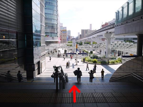 小倉駅の南口付近