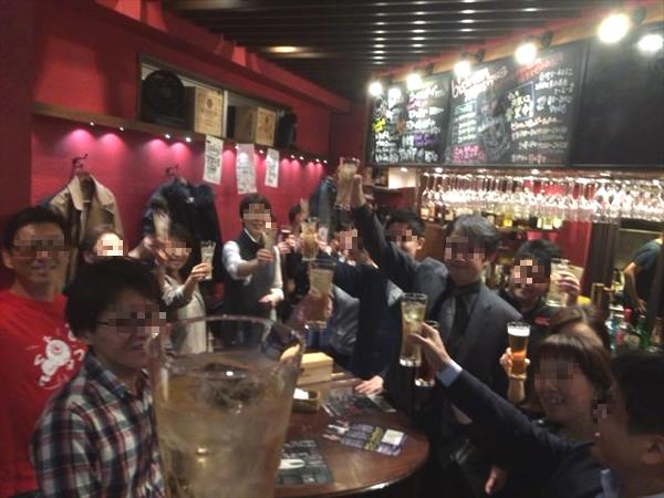 第24回ライザップオフ会、みんなで乾杯!