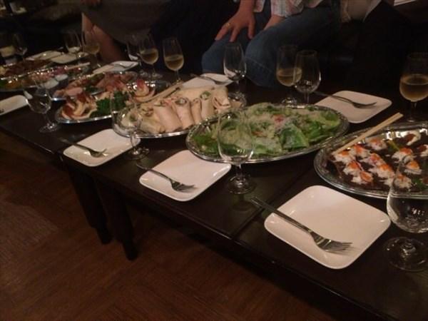 飲み会で出た食事