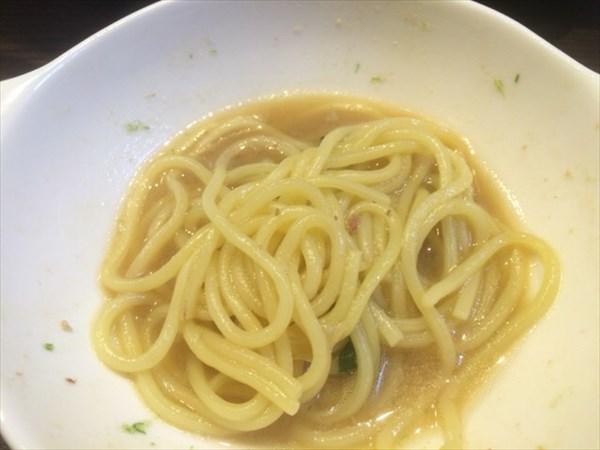 もつ鍋の〆で食べたちゃんぽん麺