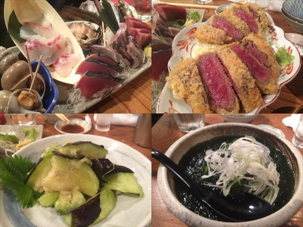 魚金で食べた料理
