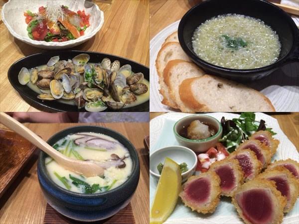6/24に食べた海鮮系料理
