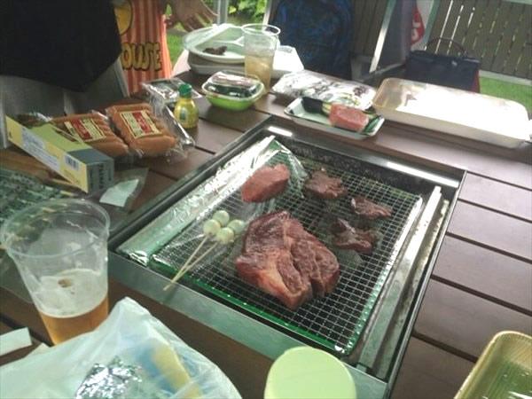 BBQオフ会で食べたお肉