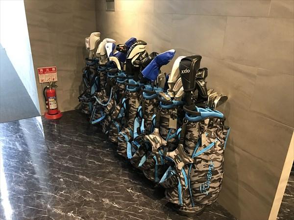 様々なゴルフクラブセット