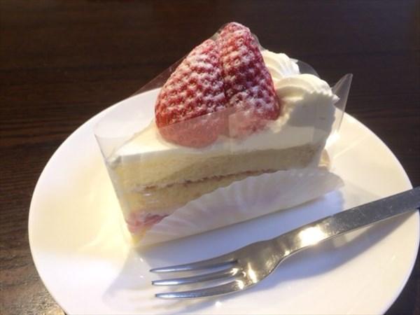シボヘール生活前最後に食べたケーキ