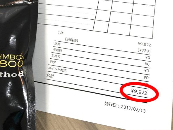 単品購入したキレマッスルの明細書