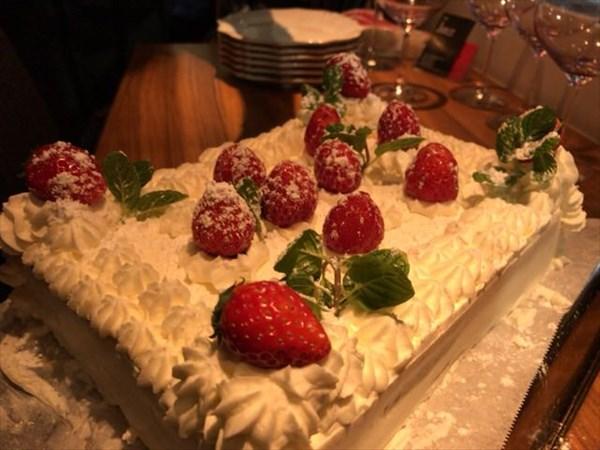 デザートのケーキ(全体)