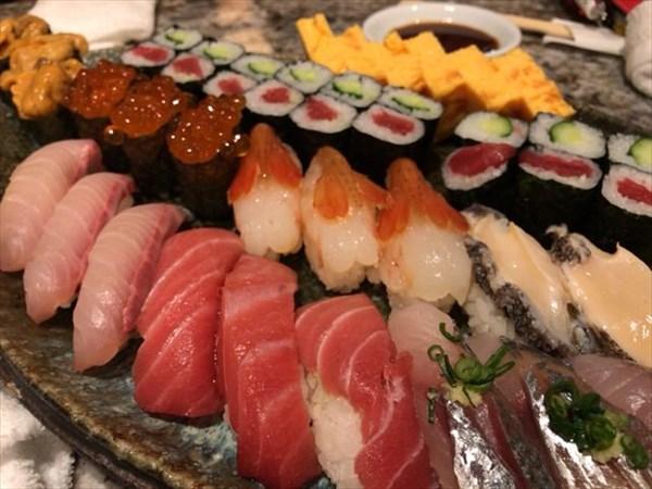 三次会で食べた寿司