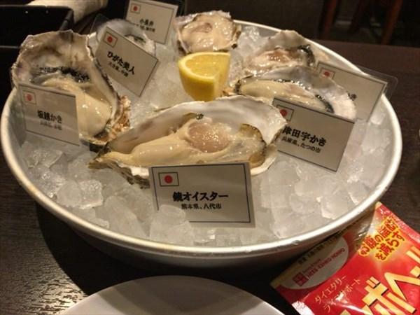 月曜日は牡蠣料理にシボヘール