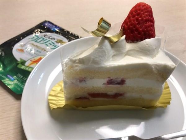 ショートケーキと大人のカロリミット