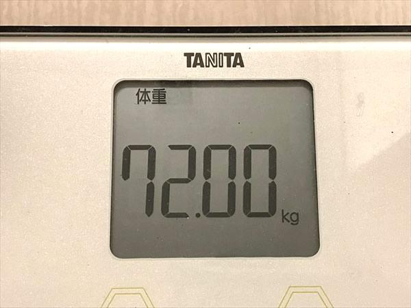 大人のカロリミットでダイエットする際のスタート時点の体重