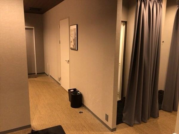 ライザップゴルフ池袋店のシャワー室