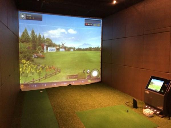 自主練することになったゴルフのセッションルーム