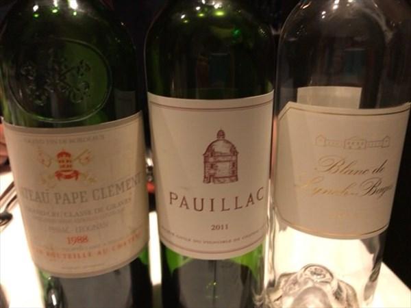 飲んだ3本のワイン