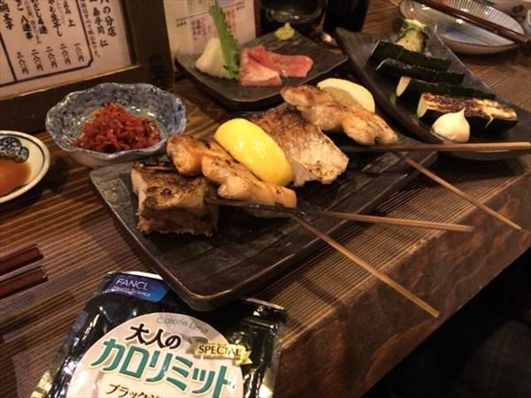 魚料理のお店で大人のカロリミット