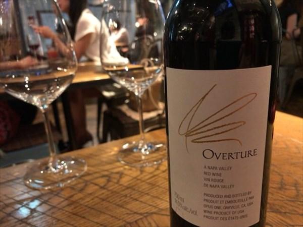 二次会で飲んだワイン「オーヴァーチュア」