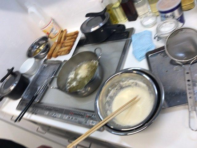 天ぷら粉を作る