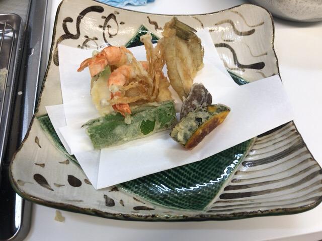 天ぷら試食