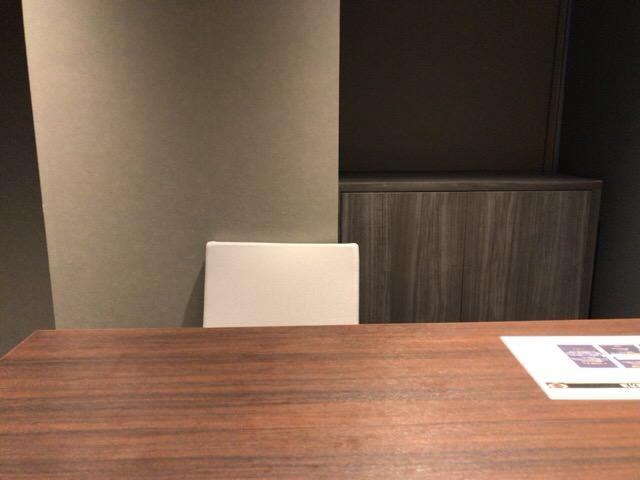 ライザップゴルフ新宿南口店のカウンセリングルーム