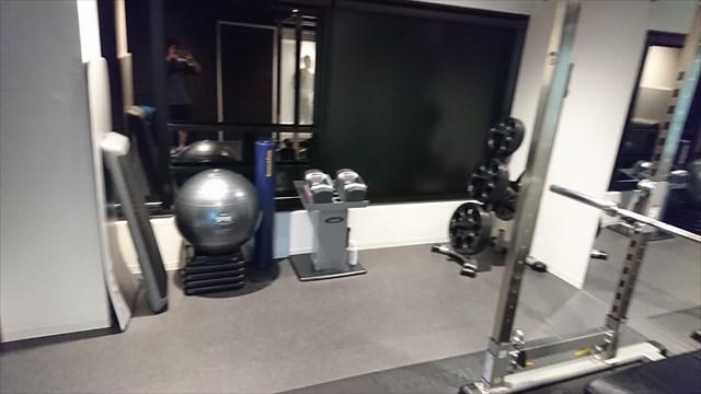 14回目のトレーニングで使用したライザップのセッションルーム