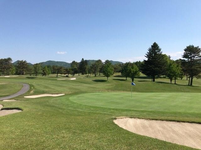 初日は絶好のゴルフ日和!