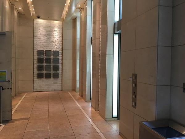 銀座ZOE館エレベーター